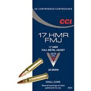 Bilde av CCI 17 HMR FMJ 20 GR FMJ